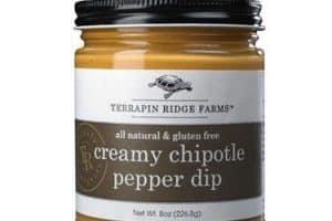 jar of chipotle pepper dip
