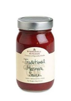 jar of marinara sauce