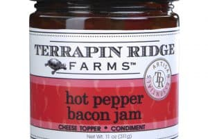 jhar of hot pepper bacon jam